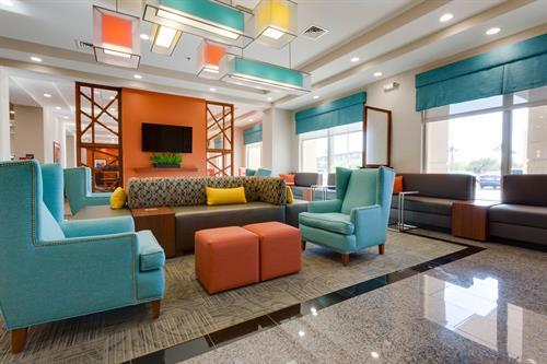 Drury Hotel's charming lobby