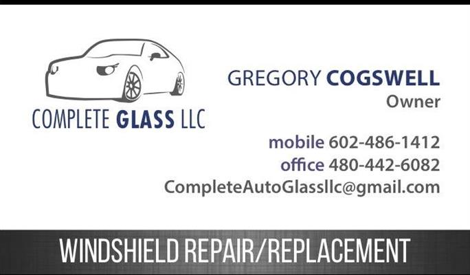Complete Auto Glass LLC