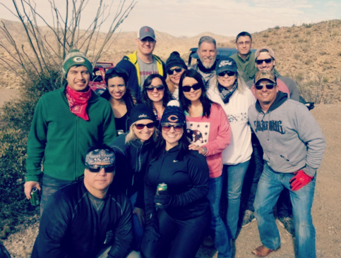 Team Building at Box Canyon