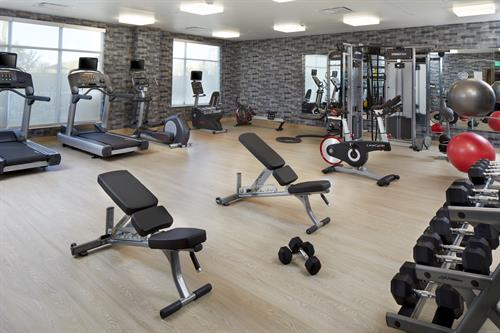 GetFIT workout room