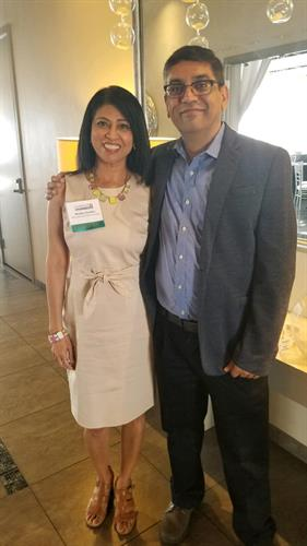 Phoenix Digital Marketing Expert Madhu Chadha with Data Scientist Bipin Chadha