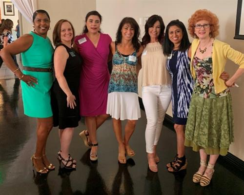Digital Marketing expert Madhu Chadha with Chandler women business leaders