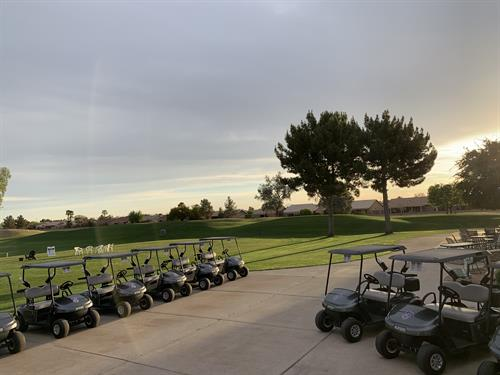 Range and Cart Staging - Springfield Golf Resort
