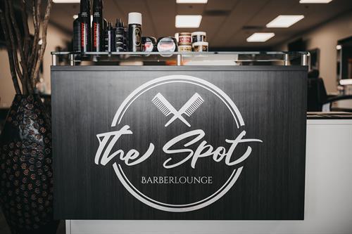 Spotbarberlounge branding