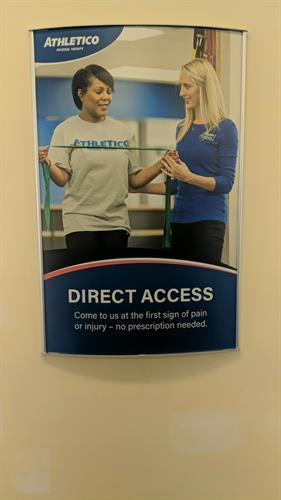 Direct Access Poster