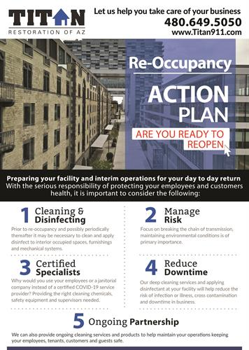 Is your business ready to reopen? We can help!