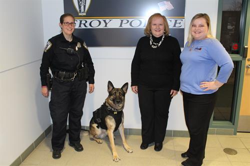 Troy K9 officer Eli