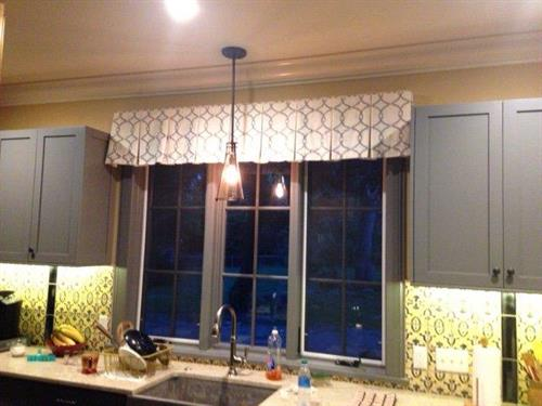 Your kitchen window can look as good as this one does. Call us today!