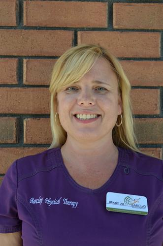 Mary Jo, Physical Therapy Assistant