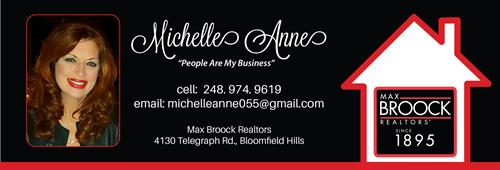 "Michelle Anne-Professional Realtor ""People Are My Business"""