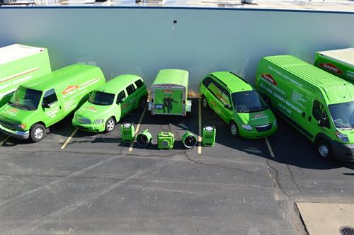 Some of our vehicles and equipment.