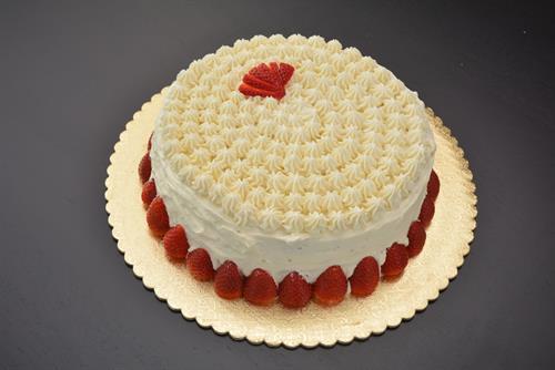 Fraisier (Strawberry cake)