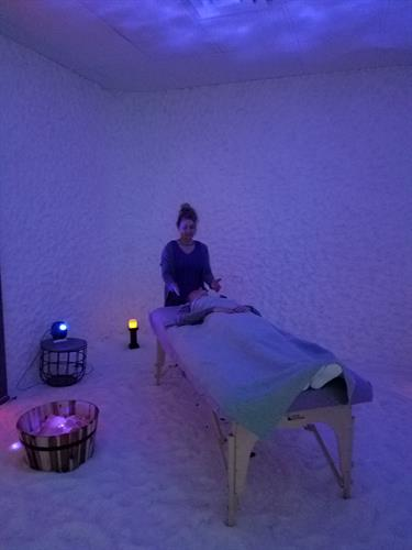 Reiki In The Salt Cave