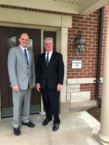 Attorneys Brad and Dan Lambert - Office Entrance