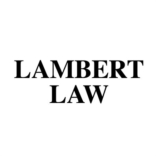 LAMBERT LAW LOGO