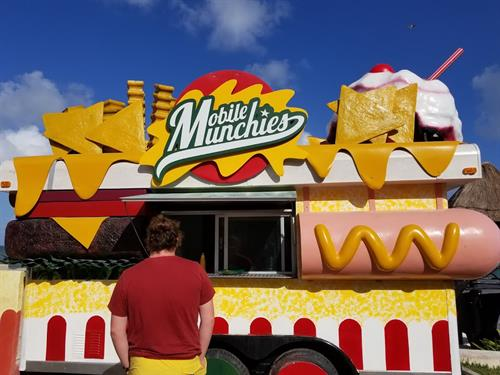 Moon Palace Resort food truck