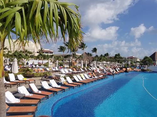 Moon Palace Resort, Riviera Maya  Pool