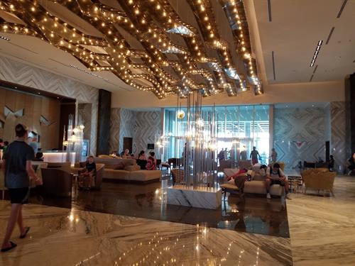 Moon Palace Resort Lobby