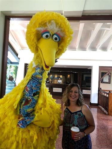 Beaches Resort Negril (the Beaches resorts are known for having Sesame Street characters on site)