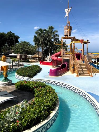 Beaches Resort Negril lazy river