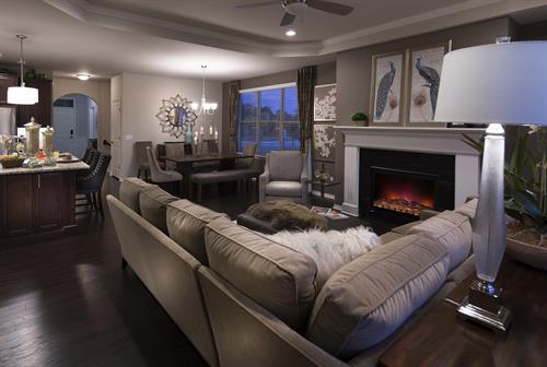 Moceri Custom Homes Unique Living Rooms