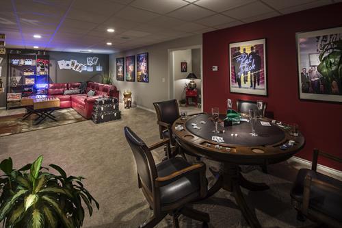 Moceri Custom Homes Entertainment Studios