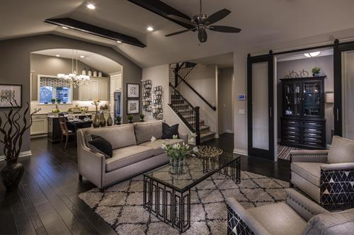 Moceri Custom Homes Elegant Living Spaces