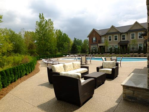 Heron Springs Outdoor Lounge Area