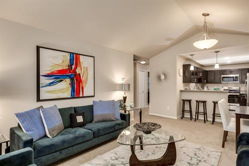 Parkways of Auburn Hills Open Living with Cathedral Ceilings