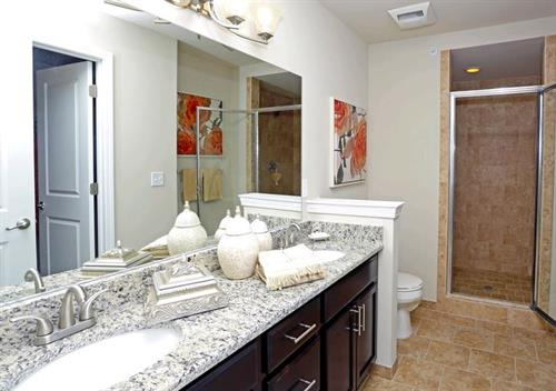 Parkways of Auburn Hills Designer Bathrooms