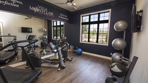 Villa Montclair Fitness Room