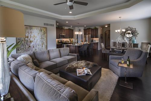 Villa Montclair Family Room Interior