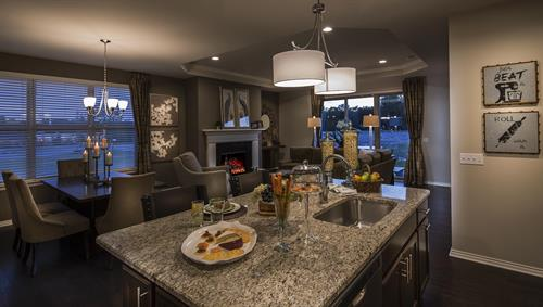 Villa Montclair Open Concept Kitchen Area