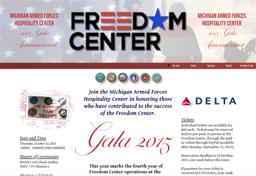 Client: MI Freedom Center at DTW