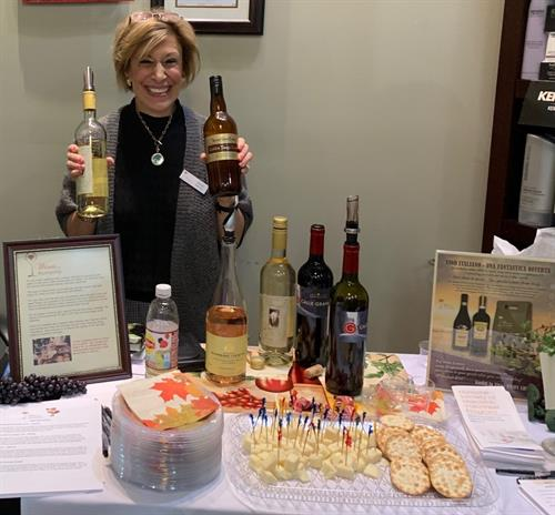 Hosting a tasting at a hair salon for Deer Widows Weekend