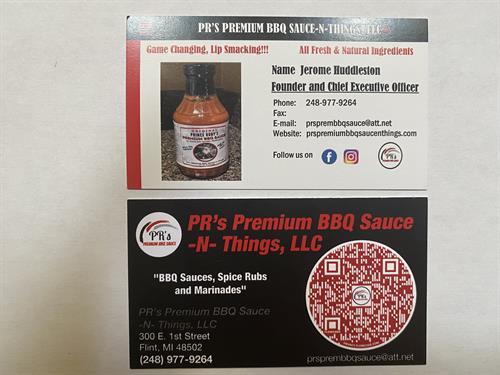 Business Card & QR Code
