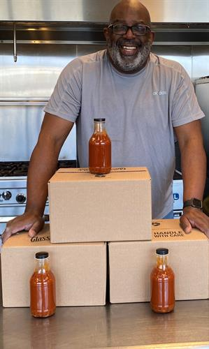 First 3 sold cases of BBQ Sauce