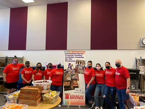 Red Day 2021 - Blessings in a Backpack