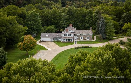 Rochester Hills Museum at Van Hoosen Farm - Van Hoosen Farmhouse