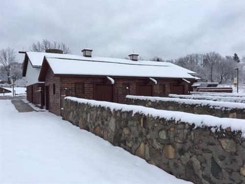 Rochester Hills Museum at Van Hoosen Farm - Bull Barn & Bull Runs
