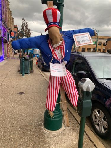 Downtown Rochester Scarecrow 2020