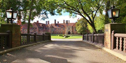 Meadow Brook Hall is a National Historic Landmark