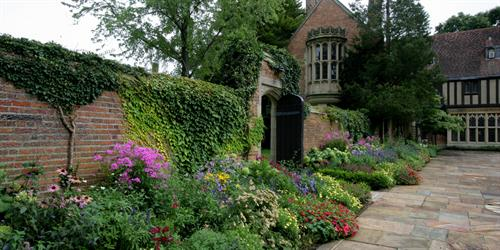 Meadow Brook Hall has over 15 Signature Gardens
