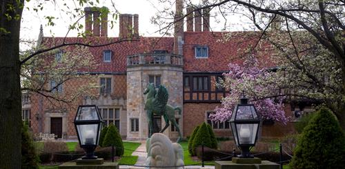 Meadow Brook Hall's Pegasus Fountain