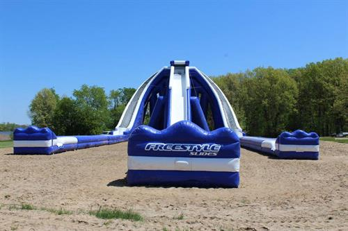 Trippo Water Slide at Stony Creek Metropark