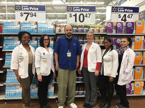 The Rochester Hills Walmart Health and Wellness Team