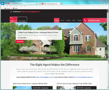Website Project - Real Living Kee Realty