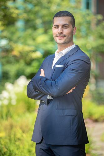 Business Portrait shot outdoors