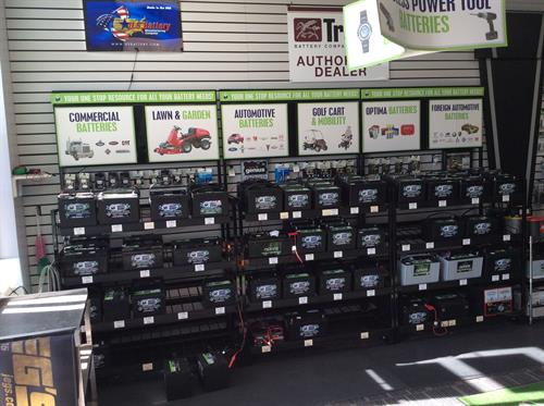 Batteries for Cars and Trucks Installation available, Made in the USA