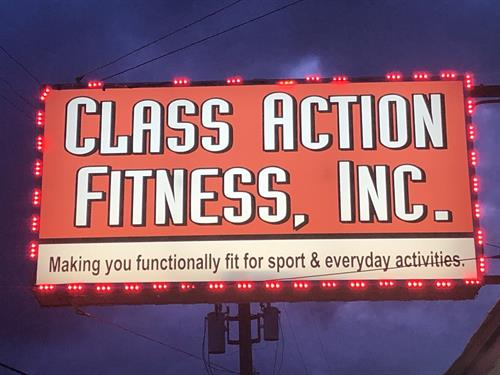 Our new sign.  Making you Functionally Fit for Sport and Everyday Activities!